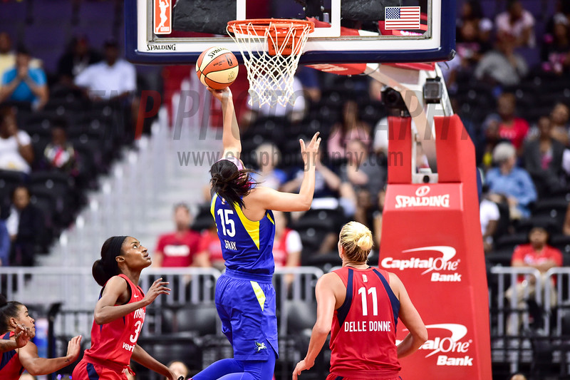 WNBA Basketball: Dallas Wings at Washington Mystics