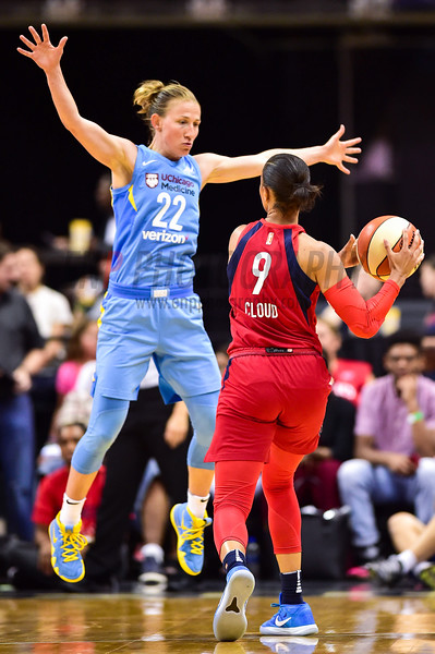 WNBA Basketball: Chicago Sky at Washington Mystics