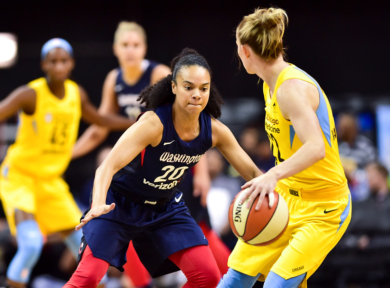WNBA Basketball: Chicago Sky at Washington Mystics