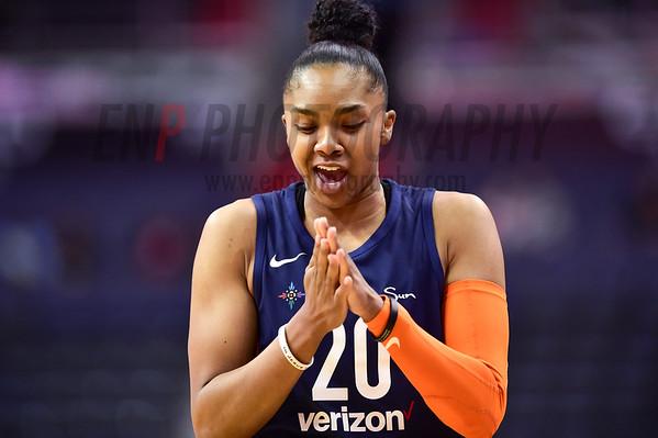 WNBA Basketball: Connecticut Sun at Washington Mystics
