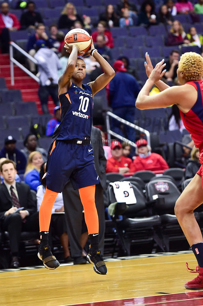 WNBA Basketball: Connecticut Sun at Washington Mystics