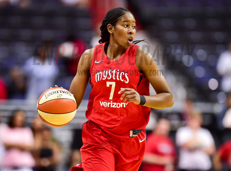 WNBA Basketball: Los Angeles Sparks at Washington Mystics