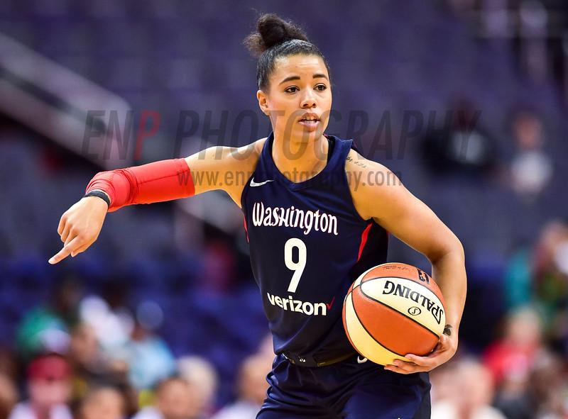 WNBA Basketball: New York Liberty at Washington Mystics
