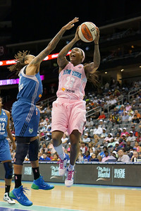 WNBA 2013 - The Minnesota Lynx visit the New York Liberty