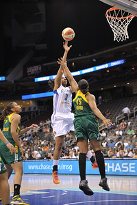 WNBA 2013 - The New York Liberty Defeat the Seattle Storm 66-57