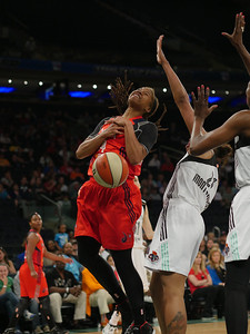 WNBA 2014 - The Washington Mystics visit the New York Liberty