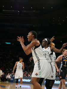 WNBA 2014 - The Conneticut Sun Visit the New York Liberty