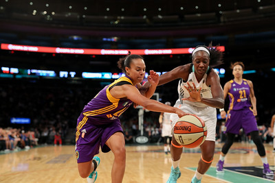 WNBA 2015 - The Los Angeles Sparks Visit the New York Liberty 6/28/2015