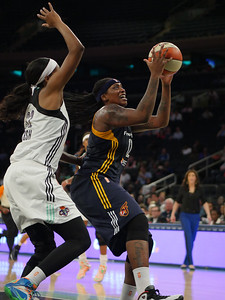 WNBA 2015 - The Indiana Fever Visit the New York Liberty