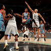 WNBA 2015 - The Atlanta Dream Visit the New York Liberty
