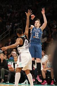 WNBA 2015 - The Minnesota Lynx Visit the New York Liberty