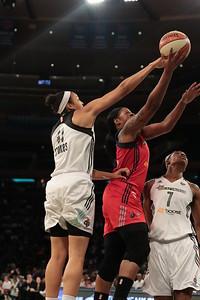 WNBA 2015 - The Washington Mystics Visit the New York Liberty 9/11/2015