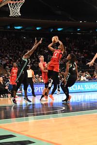 WNBA 2016 - The Washington Mystics Visit the New York Liberty