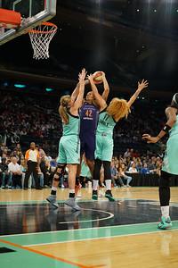 WNBA 2016 - The Phoenix Mercury Visit the New York Liberty