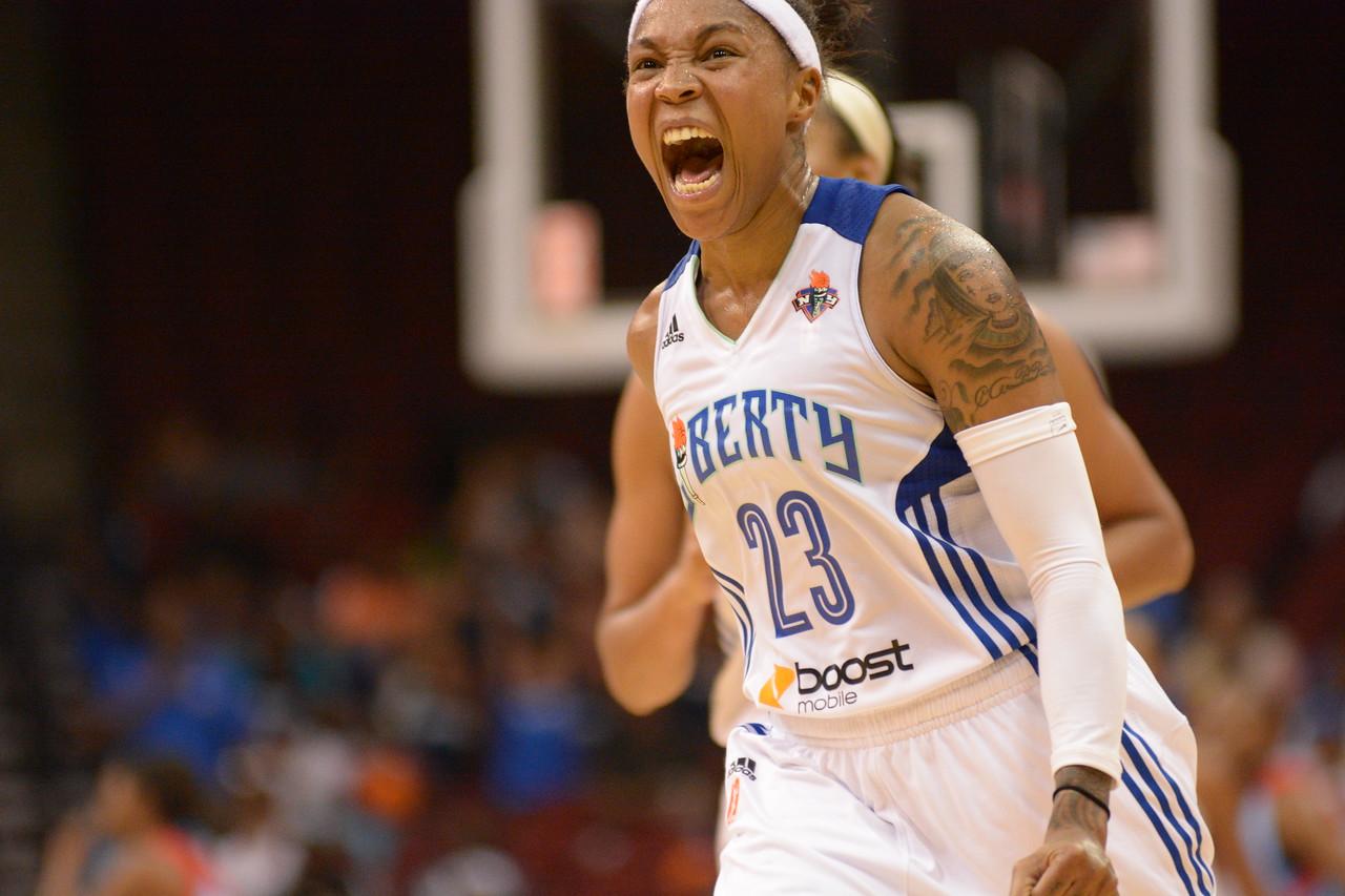 WNBA 2013 - The Atlanta Dream visit the New York Liberty