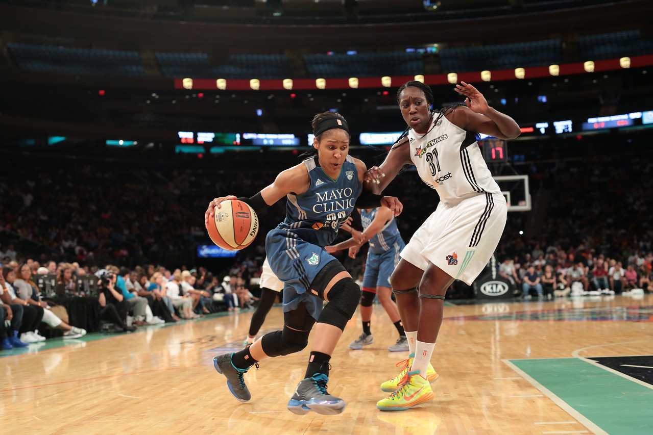 WNBA 2015 - The Minnesota Lynx Visit the New York Liberty