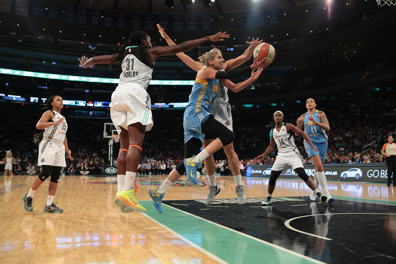 WNBA 2015 - The Chicago Sky Visit the New York Liberty 9/3/2015