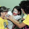 111 -- kids club face painting (I think those are Runza shirts the kids are wearing because Runza was a sponsor)