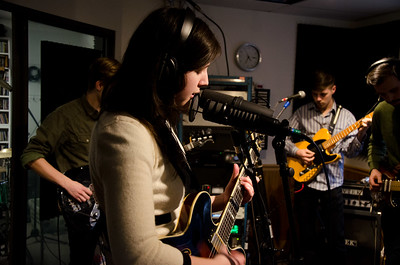 Lucy Dacus at WNRN Studio