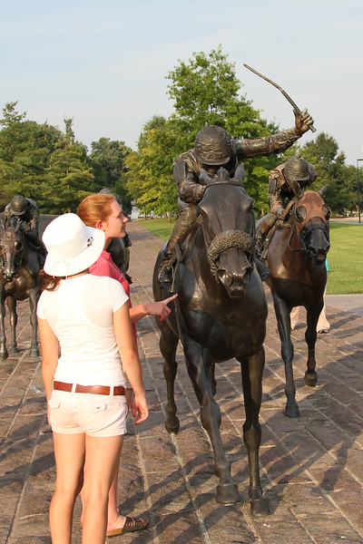 Thoroughbred Horse Park, downtown Lexington