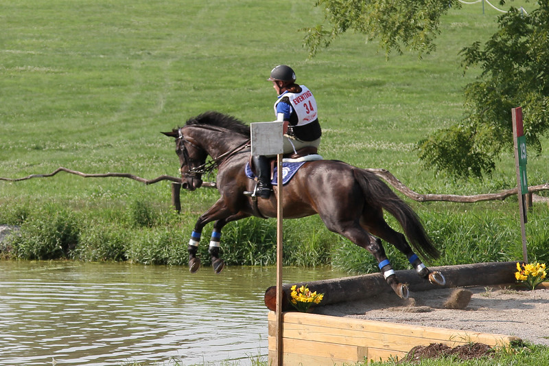 Brittnie C and Zoe in Training eventing