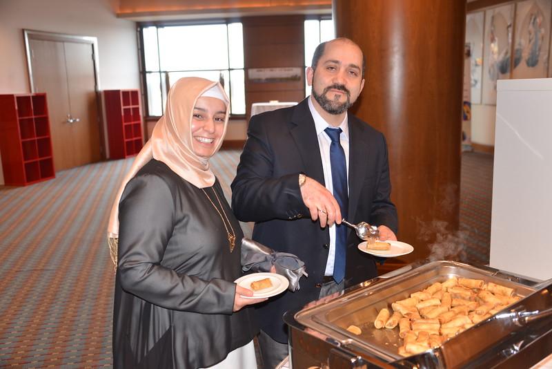AMMAR  GUlEN & Wife owner Lunna  crêpes and café fast service  restaurant  Winner