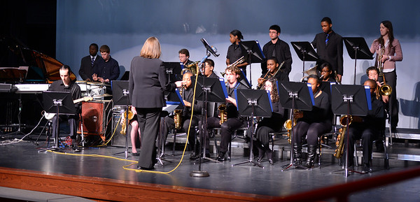 WOHS Jazz Band Performance 022013