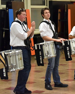 Indoor Percussion at Woodbridge 022815