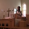 "Richard Payerchin - The Morning Journal <br> LaCoya Head, 18, of Lorain, speaks at the Wesley United Methodist Church Annual Women's Day Program on July 16, 2017, at the church, 220 W. Seventh St., Lorain. Head was one of three keynote speakers addressing the theme: ""The Leadership & Vision of Women, Past, Present & Future."""