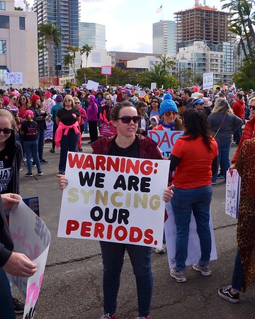 Woman's March - San Diego