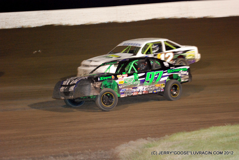 GREAT STOCK CARS WHEELS UP !