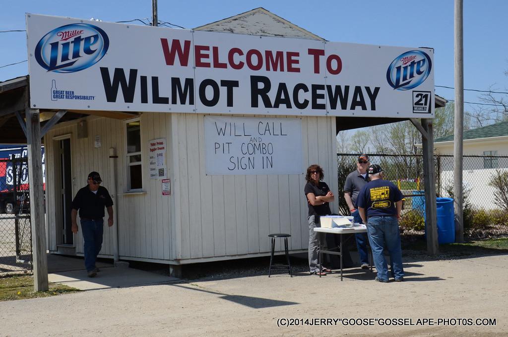WORLD OF OUTLAWS TICKETS #WILMOT RACEWAY, WILMOT WIS.