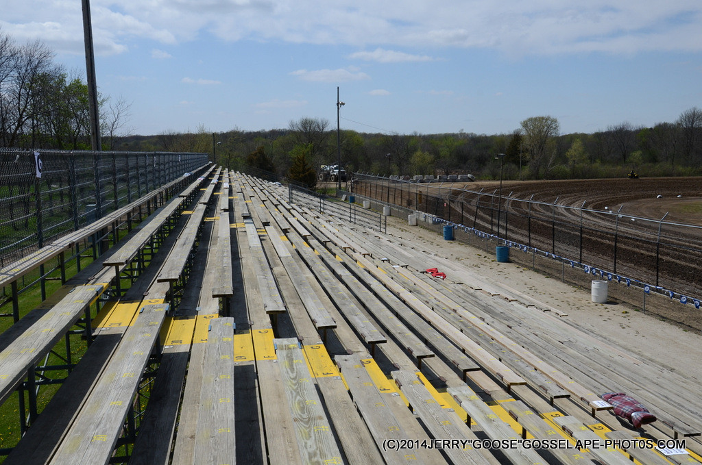 THE STANDS ON THE WEST
