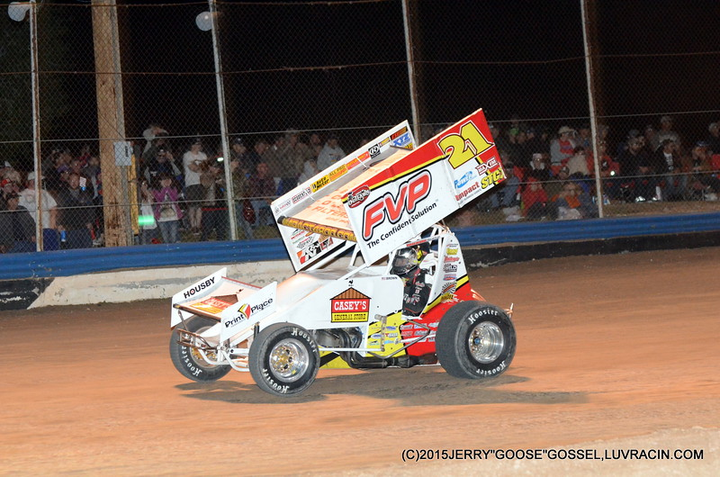 BRIAN BROWN TAKES THE LEAD