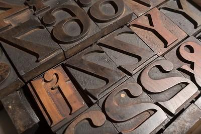 Art Nouveau wood type