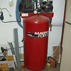"""A fore or less """"brand X"""" Sanborn air compressor.   as of '19 its pushing 30 years old, been """"on"""" 24/7."""