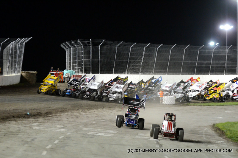FOUR WIDE FOR THE FANS DCRP KS.