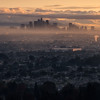 Downtown Los Angeles Sunrise Horizontal