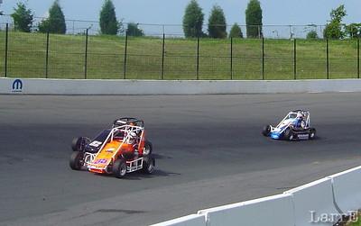 USAC midgets at Concord Speedway North Carolina