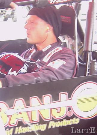 Eric Gordon in the #51 sprintcar