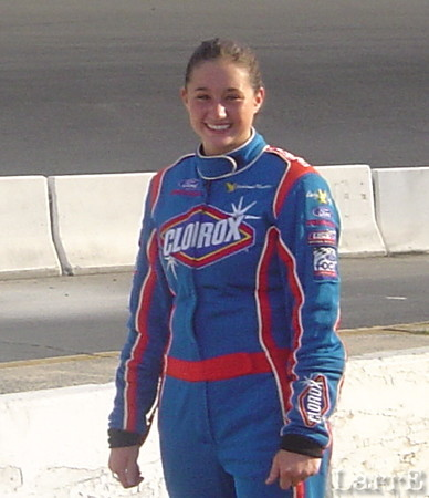 Stephanie Mockler from Westfield Indiana has the Janice East owned Clorox midget # 6