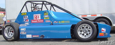 The new concept car for USAC Silver Crown class
