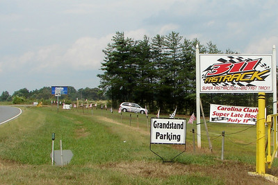 the Speedway entrance off highway 311, north of Walnut Cove, NC