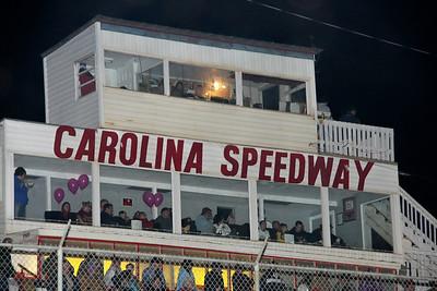 the Speedway Club at Carolina Speedway