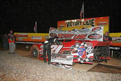 "fastest qualifier ""Fergy"" congratulates winner Luke Roffers"