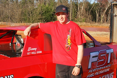 """As a kid Patrick Lyons used to hear the noise from the Carolina track and was told that's just those red necks racing.  Welcome to """"Red Neck"""" Lyons"""