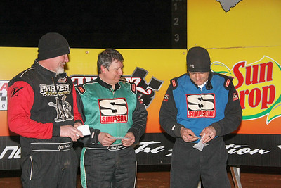 Parker, Smith and Bowen find where they'll start the race