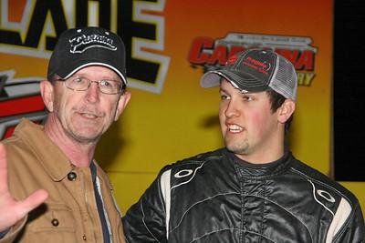 Larry Trull and pole position winner Chris Ferguson