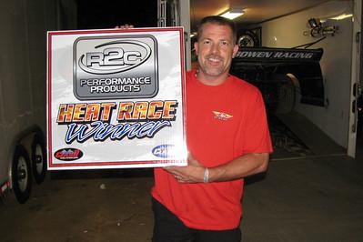 DEAN BOWEN..heat race winner