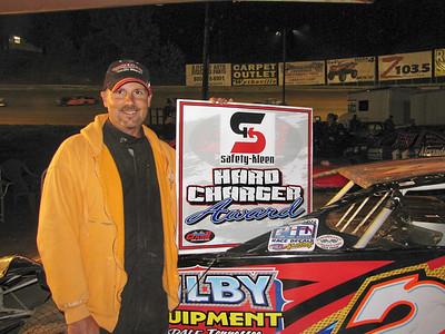 BILLY OGLE JR earned the Hard Charger award